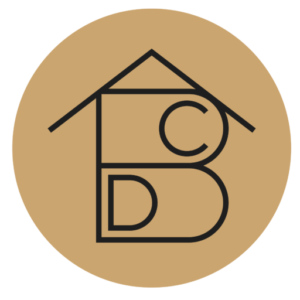ABCD MAISON Conseil en aménagement intérieur et décoration - logo doré