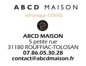 ABCD MAISON Conseil en aménagement et décoration - Mini carte de visite
