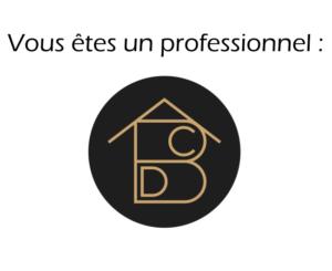 Bouton Besoins de conseil en aménagement intérieur professionnels