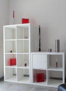 Détail déco clarinette et verticalité