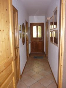 Couloir d'entrée avant