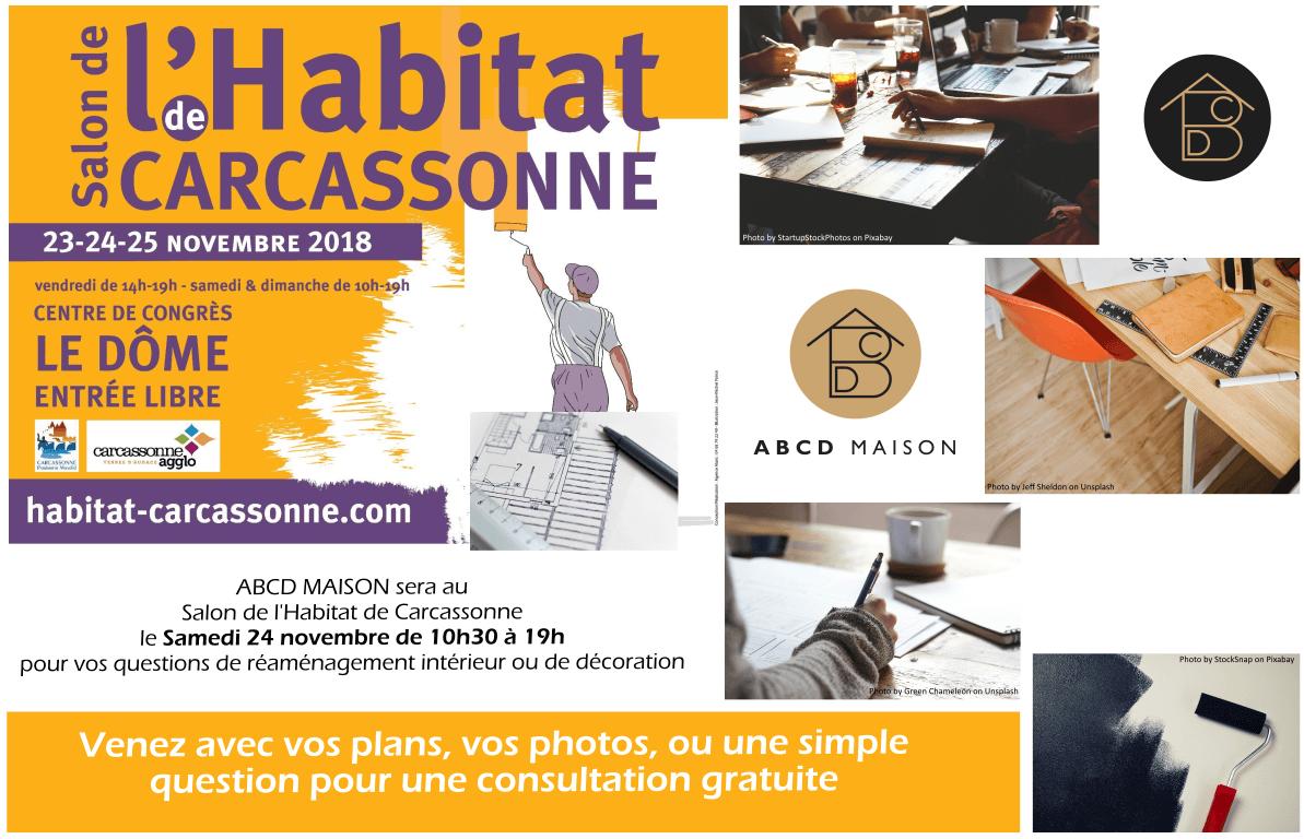 ABCD MAISON Salon Habitat Carcassonne 2018