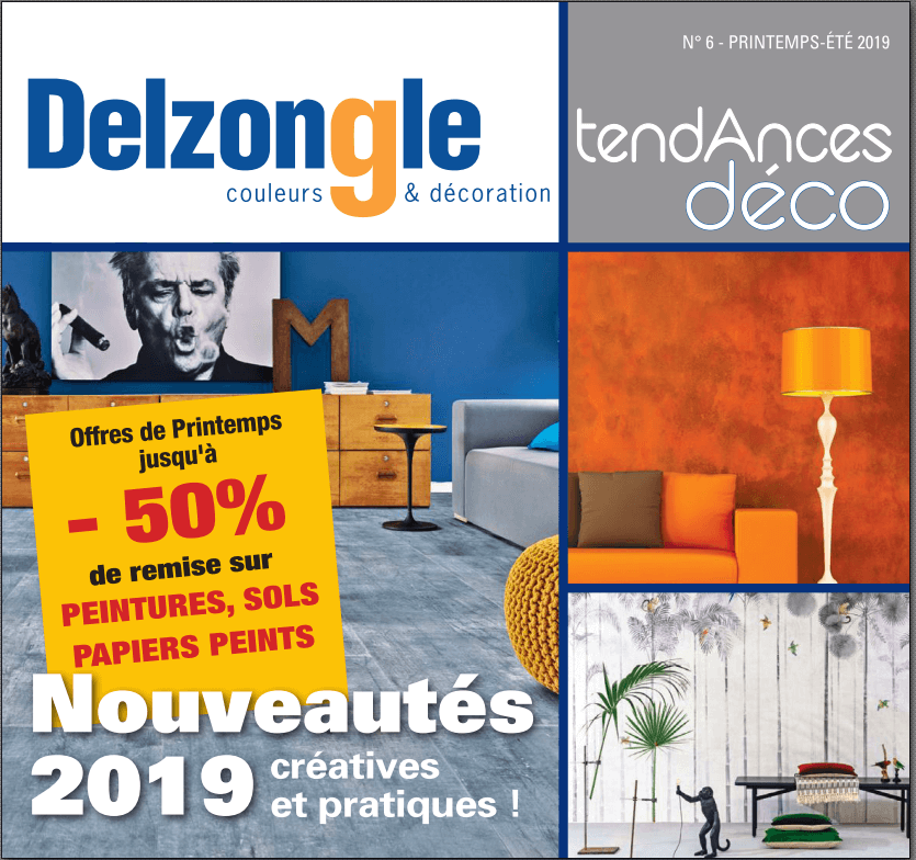 Couverture magazine Delzongle avril 2019