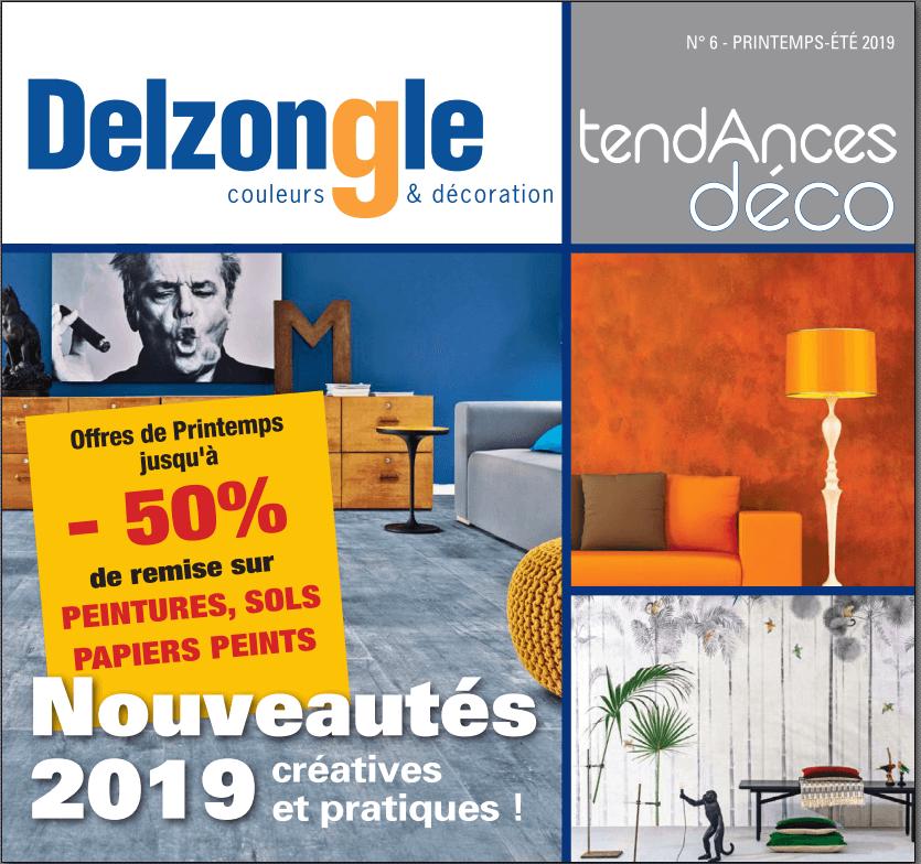 Couverture magazine Delzongle avril 2019