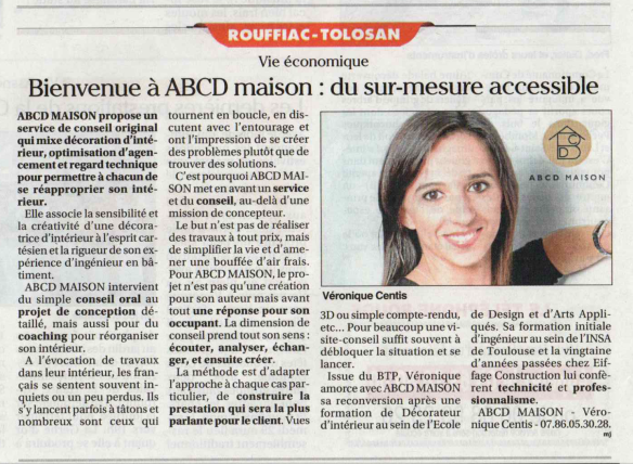 ABCD MAISON dans le Petit Journal