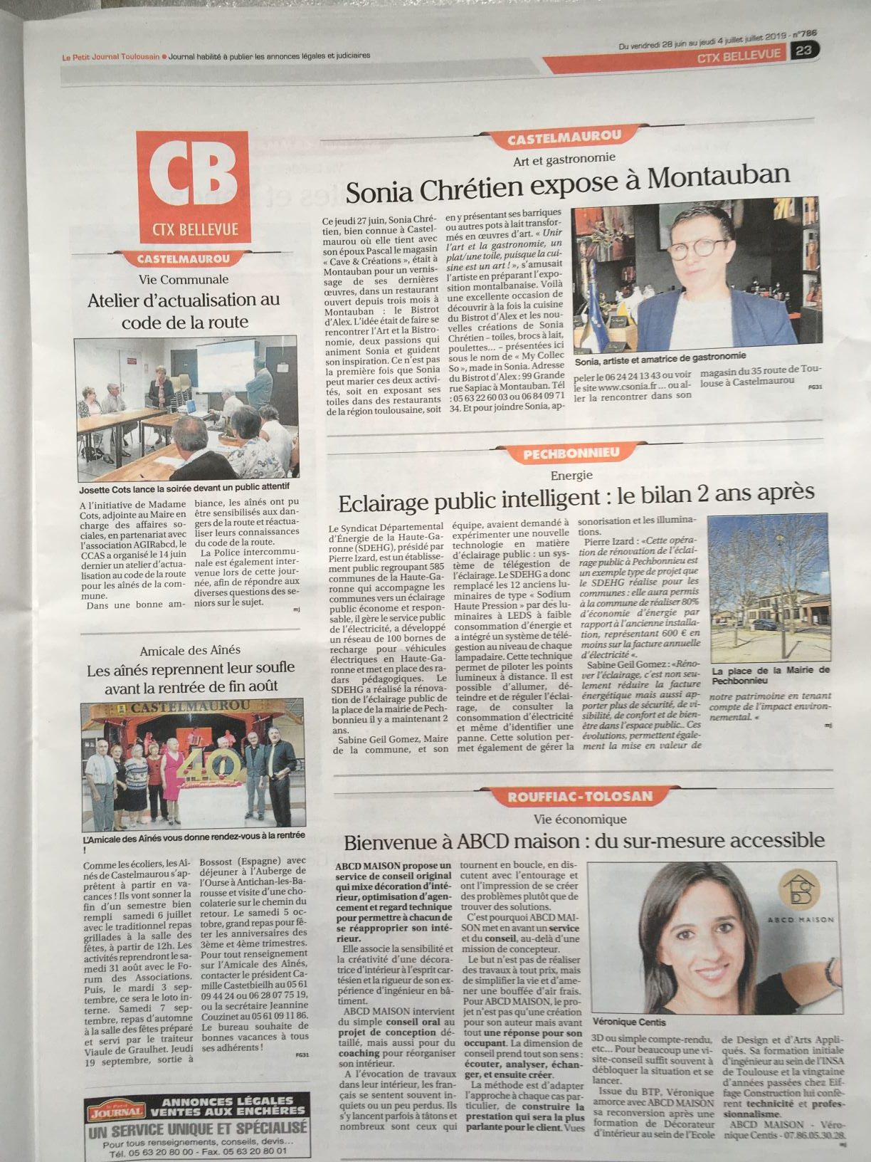 Page Petit Journal Pays Toulousain